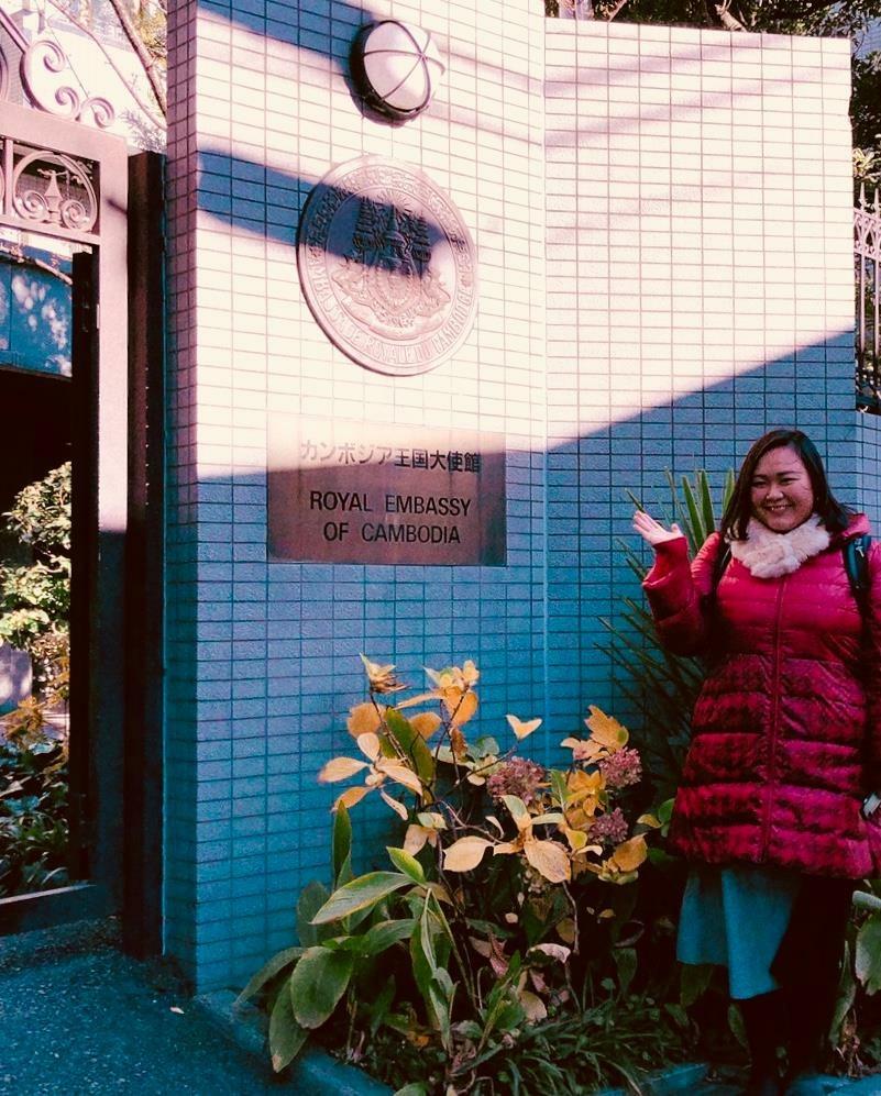 赤坂のカンボジア大使館